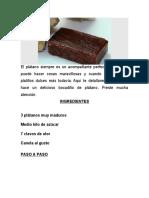 RECETA DE DULCE DE PLATANO.docx