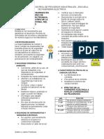 PROTOCOLO DE SEGURIDAD EN EL LABORATORIO DE ELECTRICIDAD