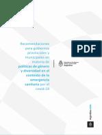 MMGYD Recomendaciones para gobiernos provinciales y municipales FINAL