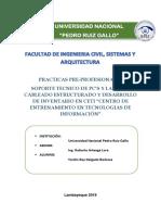Presentacion Final de Practicas Preprofesionales CETI
