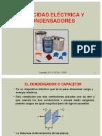 Parte 5 Capacidad eléctrica y condensadores 2016-II(2) (1).ppt