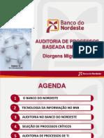Auditoria de Processos de TI - Banco do Nordeste
