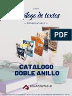 CATALOGO DOBLE ANILLO 2020 ZC