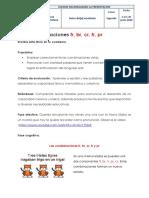 1-06-2020 Guía de Lengua CASTELLANA Combinaciones.