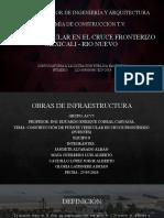 PROCEDIMIENTO CONSTRUCTIVO PUENTE CRUCE  MEXICALI B C