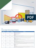 Catálogo de Filtro