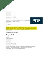 Evaluación  gerencia de proyectos