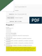 EVALUACION INICIAL INVESTIGACION DE MERCADOS