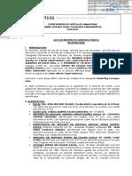 ACTA DE AUDIENCIA-EXP. 778-2014