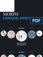 Create carousel effect with Morph_Final Version