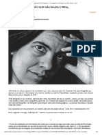 Suplemento Pernambuco - A imagem é uma ficção que não muda o real