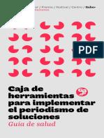 Caja de herramientas para implementar el periodismo de soluciones- Guía de salud