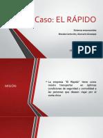 Morales Centurión Giancarlo Giusseppi - Caso - El rapido