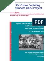 000254 Tonga Refrigeration Training Report 12 03 FINAL