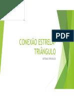 CONEXÃO ESTRELA-TRIÂNGULO