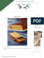 CAKE au FLAN - Le Coconut Blog - Levain _ Fermentation _ Fait-maison