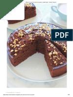 Gâteau au yaourt et cacao en poudre, recette facile - Cuisine Culinaire