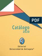 Catalogo Editorial Universidad de Antioquia 2020.pdf