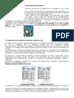 Certificación de Redes de Cableado Estructurado