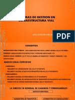 E. NORMAS DE GESTION EN INFRAESTRUCTURA VIAL
