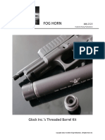 Glock Inc.'s Threaded Barrel Kit for the Glock 44