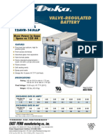 Baterías 12AVR-145L y 145LLP