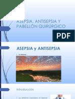 1ra clase ASEPSIA, ANTISEPSIA + LISTA