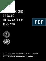 Las condiciones de Salud en las Americas ( - Organizacion Panamericana de la Salud