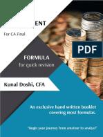 CAFinal SFM Formula LDR - EduInvest Academy Prof Kunal Doshi.pdf