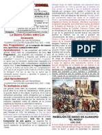 3 CC.SS SEMANA 15 - CONFLICTOS ENTRE LOS SOCIOS DE LA CONQUISTA