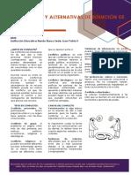 MECANISMOS Y ALTERNATIVAS DE SOLUCIÓN DE CONFLICTOS 2020