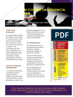 Prevención contra la violencia intrafamiliar