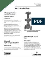 Catalogo Valvula Fisher globo modelo HP.pdf
