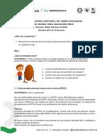 EDUCACIÓN FÍSICA. IED MARÍA AUXILIADORA - CONECTIVIDAD LIMITADA - 8 AL 12 DE JUNIO DE 2020