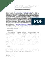 Reglamento para la Comercialización de Combustibles Líquidos y otros