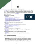 Third Molar White Paper