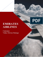 EMIRATES AIRLINE- Customer Value–Driven Strategy.docx