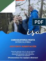 CONVOCATORIA MIXTA ASISTENTE SUBESTACION SAN BERNARDINO