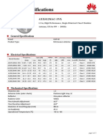 UHP-M 1.2m Single Polarization Class3 Antenna Datasheet(AXXS12MAC-3NX)