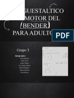 Bender Proyectivo Adulto