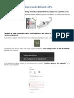 Manual Conexion Ethernet