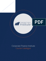 CFI Financial Analyst Program