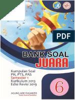 BANK SOAL KELAS 6