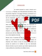 IMPORTANCIA DE LA LEY DE MIGRACIONES - MARIA TERESA CARRERA COLCHAO 4° A