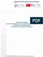 FR Position Asso Collect 5eme RapCohes Position Commune MEPLF