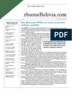 Hidrocarburos Bolivia Informe Semanal Del 10 Al 16 Enero 2011