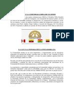 El Perú y la comunidad andina de naciones y el Perú y la comunidad sudamericana de naciones o UNASUR y el pacto amazónico..pdf