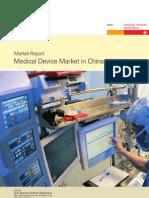 BB Marktstudie Medical Device Market in China 070215