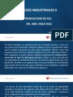 Produccion de hcL