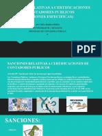 SANCIONES RELATIVAS A CERTIFICACIONES DE CONTADORES PUBLICOS.pptx